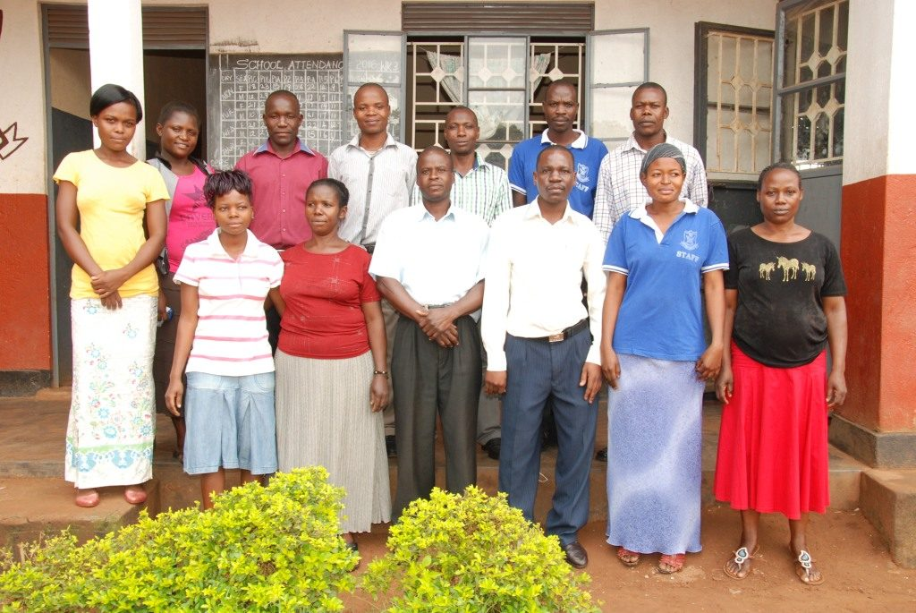 Teachers at faith education center